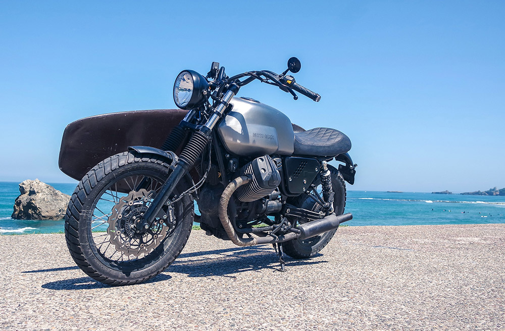 moto guzzi conquers over 20,000 wheels & waves fans in biarritz