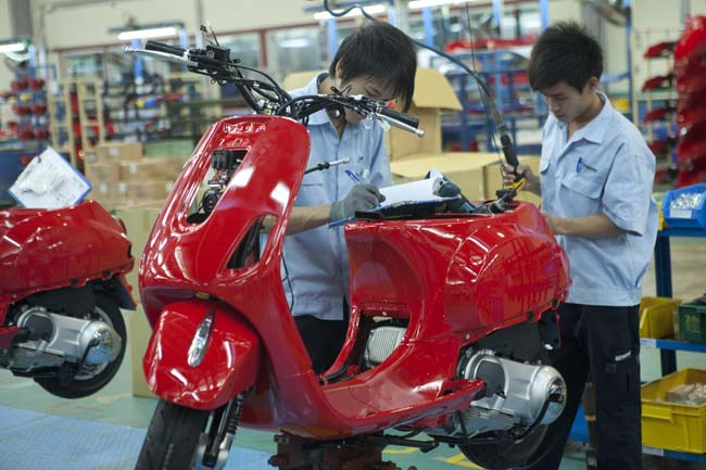Piaggio Group: official opening of new Vietnam factory
