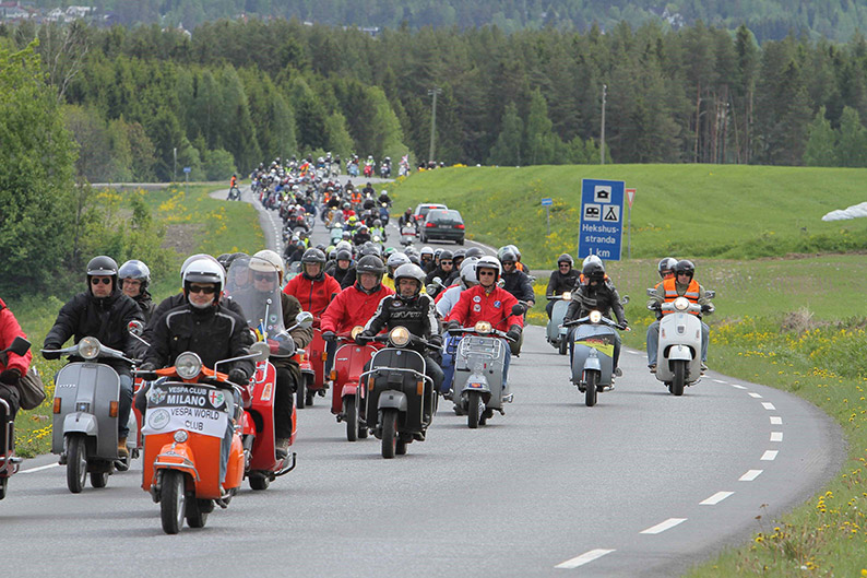Al via in Germania la 11esima edizione dei Vespa World Days