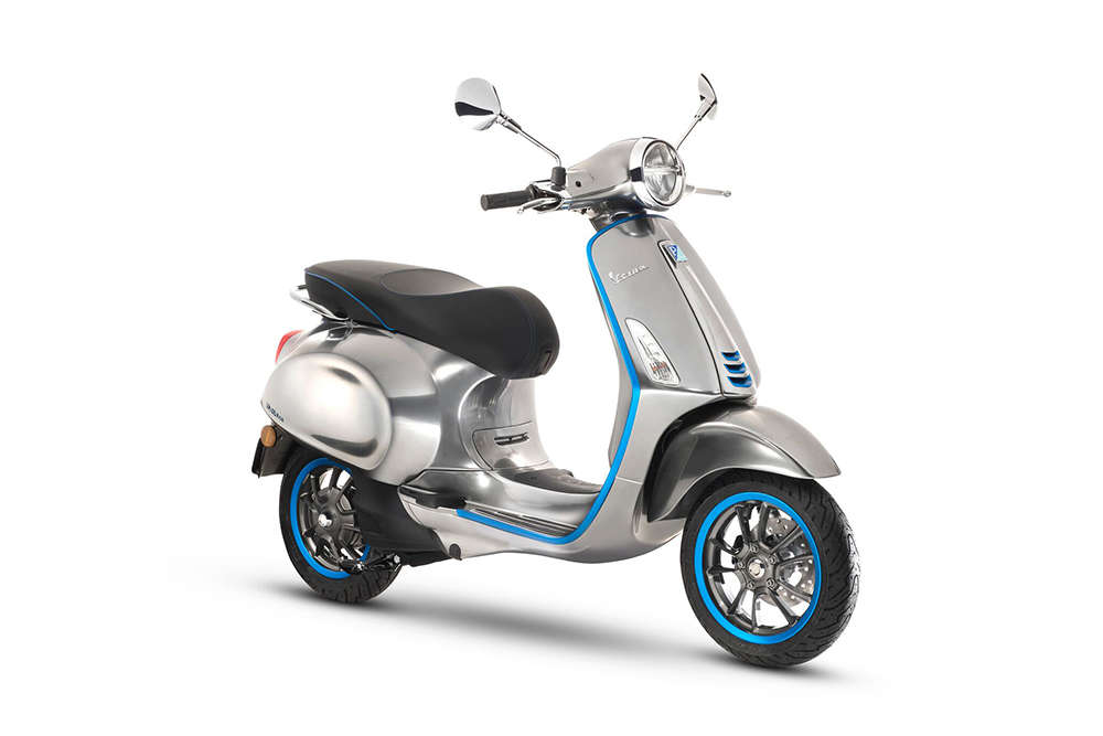The Piaggio Group introduces the Vespa Elettrica and all the