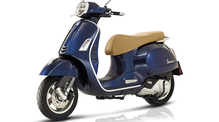Vespa is the best scooter in the world according to the germans