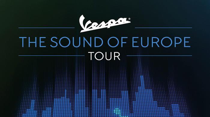 """Parte """"The Sound Of Europe Tour"""", Vespa diventa protagonista dell'estate 2019"""