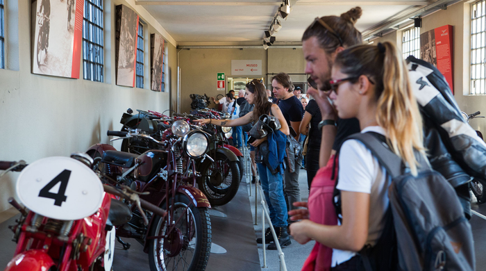 From 6 through 8 september, the Moto Guzzi Open House is back