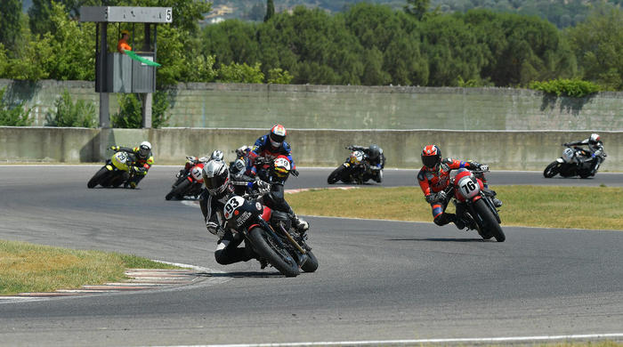 Moto Guzzi Fast Endurance - action