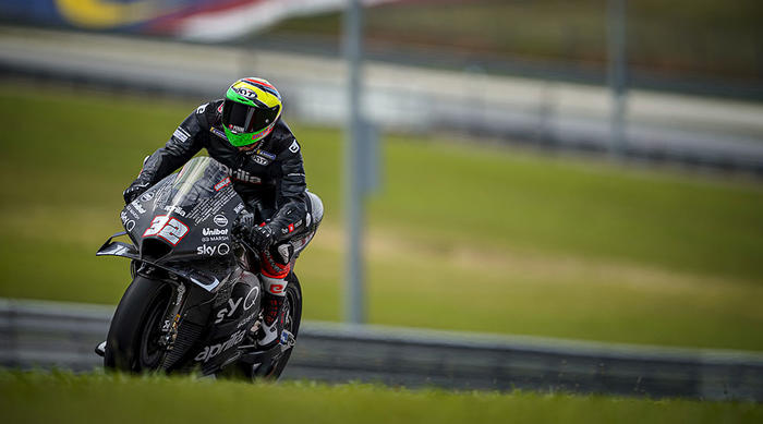 Good début for the new 2020 Aprilia RS-GP at the Sepang tests