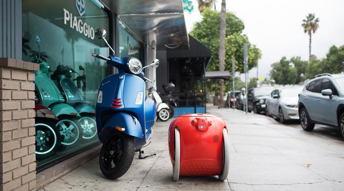 Piaggio Fast Forward: il robot Gita premiato con la menzione d'onore agli Innovation by Design 2020