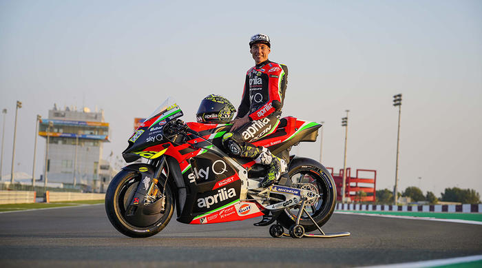 Aleix Espargaro' confermato in Aprilia con un accordo biennale per le stagioni MotoGP 2021 e 2022