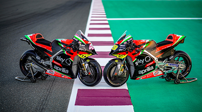 Una RS-GP totalmente rinnovata lancia Aprilia verso la nuova stagione in MotoGP per una sfida tutta italiana