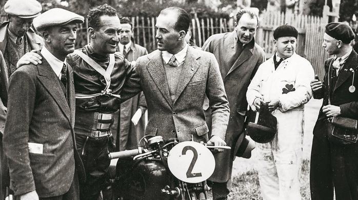 1935 Carlo Guzzi - Stanley Woods - Giorgio Parodi