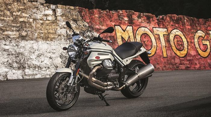 Moto Guzzi Griso in Mandello del Lario