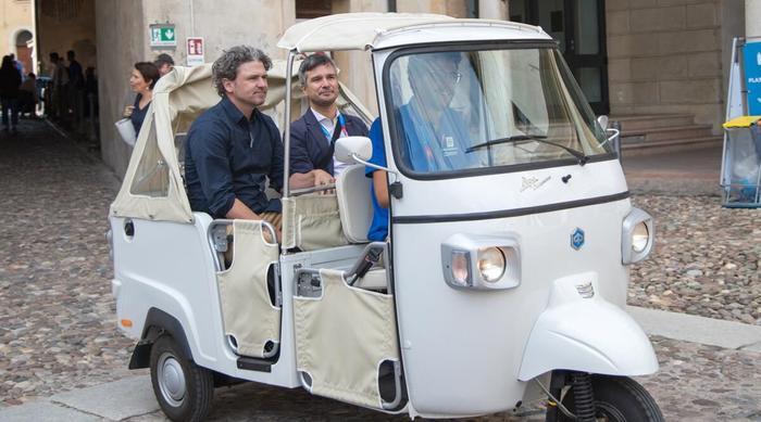"""Piaggio Group partner to """"Festivaletteratura"""""""