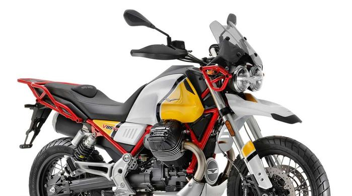 Moto Guzzi V85 TT: more than 8,000 test rides  booked throughout Europe