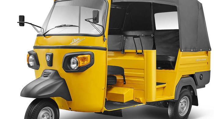 Gruppo Piaggio: gamma tre-ruote indiana già conforme alla nuova normativa sulle emissioni BS VI