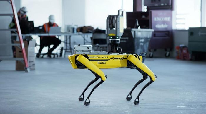 PFFtag TrimblexSpotRobot