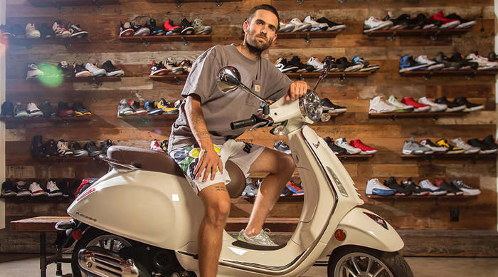 Vespa and Sean Wotherspoon announce partnership between one of the most creative and influential young designers and the iconic brand for style on two wheels