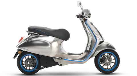 Vespa Elettrica to go in production in September